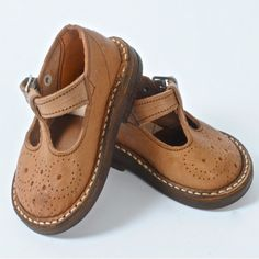 chaussures cuir camel