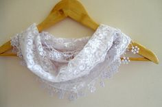 summer fashion scarvesnew scarf trendswhite by scarvesCHIC on Etsy, $15.90