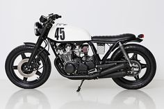 Honda CB750 KZ cafe racer by the Wrenchmonkees