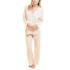 eberjey sleep chic long sleeve pajama set from RedEnvelope.com