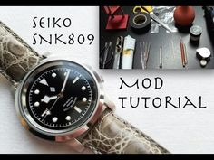 SEIKO SNK809 / SKX007 MOD TUTORIAL - How To Modify A Seiko SNK / SKX - YouTube Seiko Snk809, Seiko Mod, Rolex Gmt Master, Rolex Submariner, Seiko Watches, Cool Watches, Omega Watch, Google Search, Youtube