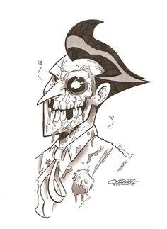 The Joker - Zombie
