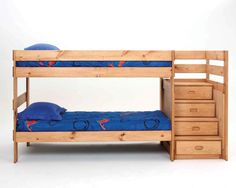 bunkbed with stairs