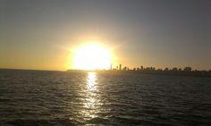 Sunset @Marine Buisson drive
