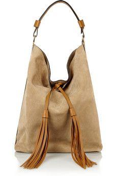 Marni Hobo large suede shoulder bag | NET-A-PORTER