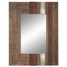 FREE SHIPPING! Shop Joss & Main for your Ithaca Wall Mirror. Perfect paired with mod clocks and shimmering mirrors or perfectly patterned wallpaper and more, this planked wood wall mirror lets you complete (and elevate) your aesthetic in effortless style.