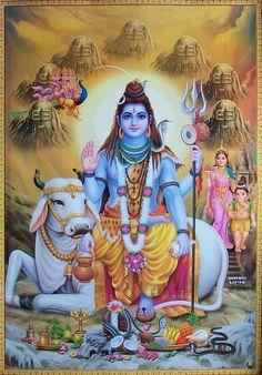 Lord Shiva's Mount, Nandi.