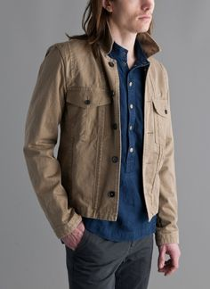 Conecuh Unlined Jacket- Khaki