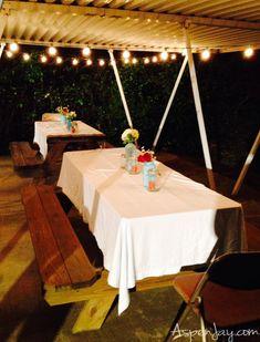 Cute backyard BBQ party ideas