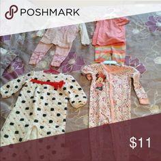 12-18 m pjs 1st: baby gapSOLD  2nd : old navySOLD  3rd: Gymboree  4th Disney Gap Pajamas Pajama Sets