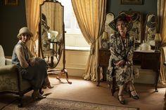 Downton Abbey Season 6, Edith and Rosamund ..