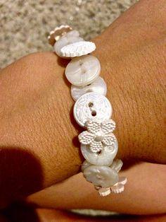 Button Bracelets #jewelry #reuse #upcycle