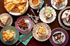 Apple Butter Pie - Our Favorite Fall Desserts - Southernliving. Recipe: Apple Butter Pie  With the smooth, creamy texture of a pumpkin pie and the tart flavor of apples, this pie comes together in a flash for a deliciously sweet and simple fall dessert.