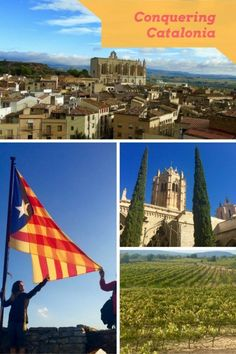 Travels around Catalonia in Spain - a journey through this fascinating region - home to Cava and Calcots, Gaudi and Miro and to some fabulous monasteries and medieval cities - Catalunya, or Catalonia in Spain