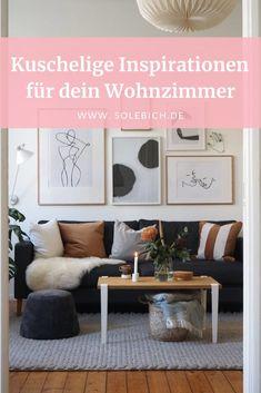 Kuschelige Inspirationen für dein Wohnzimmer!  Foto: LenaLiving #solebich #wohnzimmer #einrichtung Hygge, Entryway Bench, Gallery Wall, Inspiration, Frame, Interior, Diy, Furniture, Home Decor