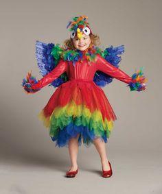 Parrot Costume for Girls