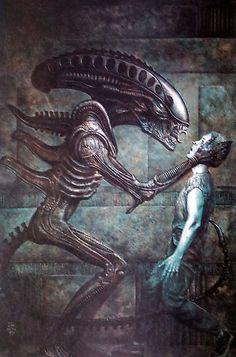 Alien cover art by John Bolton