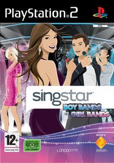 Singstar Boy Bands vs Girl Bands PS2 PS2:lle