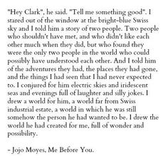 ♥Me Before You♥
