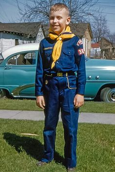 0c62241921b9 Vintage kodachrome- 1955 via mutrock Boy Scout Uniform