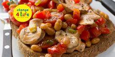 Smart beans on toast - Change4Life