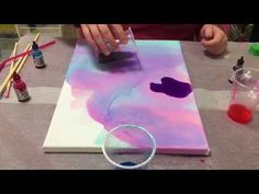 This is a quick and simple tutorial on how to make an alcohol ink galaxy piece on canvas using rubbing alcohol. For this tutorial you will need: Blank Can. Sharpie Alcohol, Alcohol Ink Crafts, Sharpie Art, Alcohol Ink Painting, Alcohol Ink Art, Sharpies, Rubbing Alcohol, Alcohol Ink Jewelry, Diy Canvas