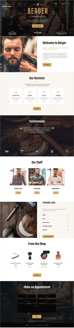 Berger is beautifully design responsive #WordPress theme for #barbershop, #hairdresser or #tattoo salon website download now➩ https://themeforest.net/item/berger-barbershop-tatoo-wordpress-theme-/17732064?ref=Datasata