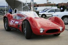 Classic Maserati Tipo 61 worth $3.4millions.    1- & 2-Dec-2012, Historic racing cars will return to the Waterfront, Geelong VIC, Australia.