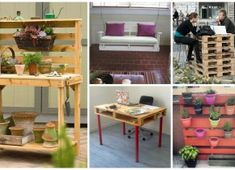 20 Really Inspiring DIY Pallet Projects You Have Never Seen Before Beside throwing some old object often we can restore and re-use it in a creative way which is useful because that way we reduce waste and we will have Pallet Projects Diy Garden, Wooden Pallet Projects, Wooden Pallets, Home Projects, Pallet Ideas, Garden Crafts, Pasta Primavera, Over The Top, Indoor Furniture Design