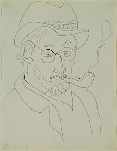 Henri Matisse. Self-Portrait. June 11, 1945