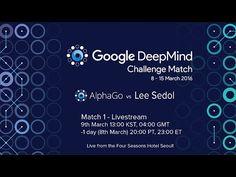 Match 1 - Google DeepMind Challenge Match: Lee Sedol vs AlphaGo - YouTube