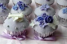 Image Detail for - Cupcakes Take The Cake: Wedding cupcakes: bride, groom, airplane