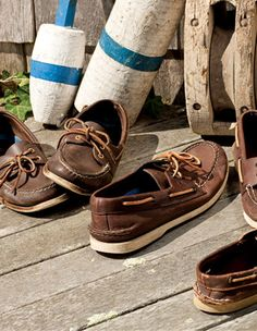 Growing up, I was taught to scoff at Sperry (worn by tourists) and only wear Sebago, favored by sailors. No clue if there's an actual difference.