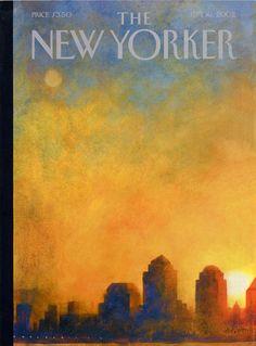 Ana Juan : Cover art for The New Yorker, September 16, 2002