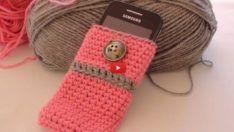 Telefon Kılıfı Yapımı – Örgü Telefon Kılıfı Nasıl Yapılır