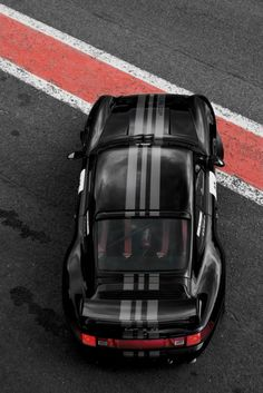 Racing stripes improve all things. Even nearly perfect ones.