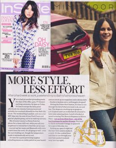 InStyle magazine mention Mimi Noor in their August issue www.miminoor.com