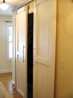 Elegant Sliding Barn Door