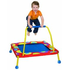 Alex Toys Little Jumpers Trampoline - I would love to have one of these in my classroom.  Some of the kids with sensory issues would benefit from it.
