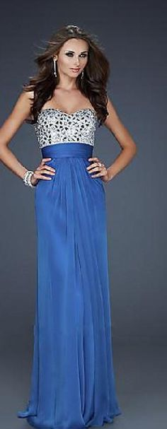 Buy Long Strapless Pleated Prom Dress at PromGirl | dresses ...