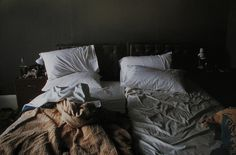 Nan Goldin, Empty Beds                                                                                                                                                                                 More
