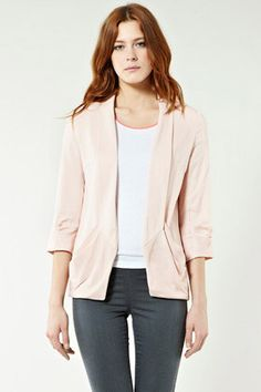DOUBLE DRAPE POCKET JACKET via Warehouse  #vcukwearyourwardrobe