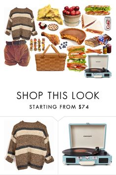 """Picnic"" by gabrielarosita ❤ liked on Polyvore featuring Crosley"
