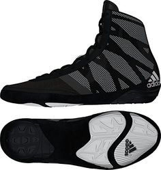 new arrival 65d59 66b64 Adidas Pretereo III Wrestling Shoes - Black Silver White - 10    Want