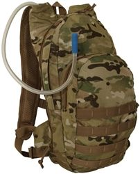 Multicam MSP-3 Expandable Hydration Pack By Voodoo Tactical | Military Bags | Military Luggage