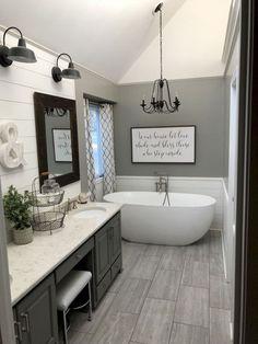 69 Cool Small Farmhouse Bathroom Remodel Design Ideas