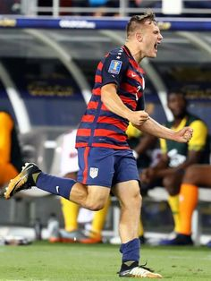 bc95f52d06a Soccer  2017 CONCACAF Gold Cup -USA at Jamaica