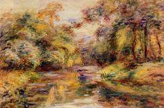 Little River, Pierre-Auguste Renoir Medium: oil on canvas