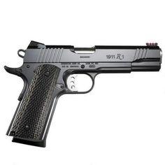 "Remington 1911 R1 Enhanced Semi Automatic Pistol 9mm Luger 5"" Barrel 9 Rounds Wood Laminate Grips Satin Black Oxide Finish 96364 - 885293963641"