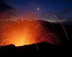 Volcanes activos y letales...